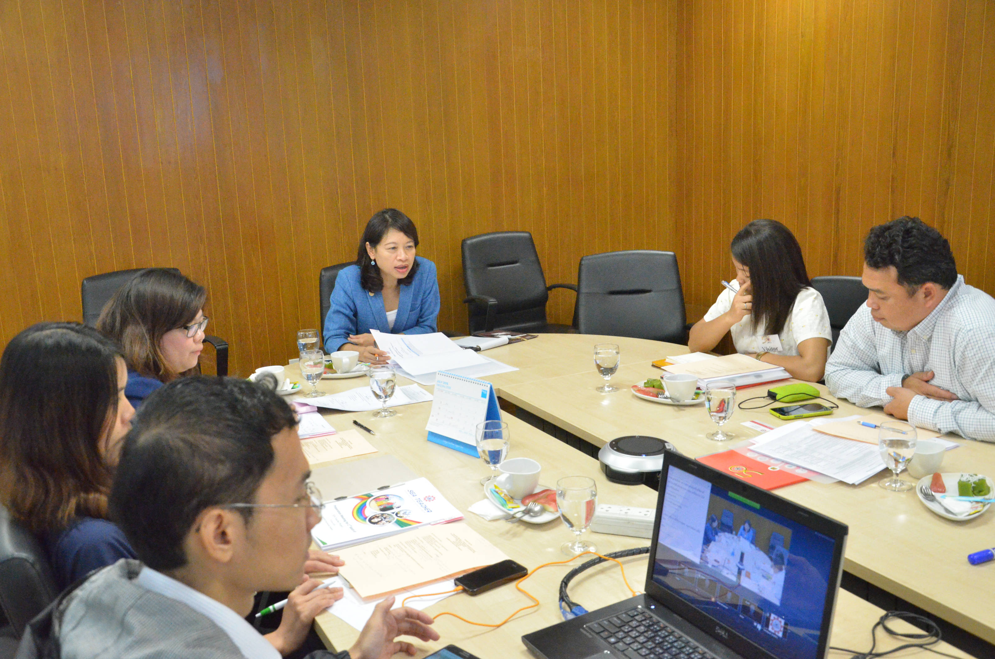 Preparation Meeting for 2nd Batch of SEA-Teacher Project, SEAMEO Secretariat, Bangkok, 23 June 2016